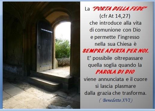 La porta della fede